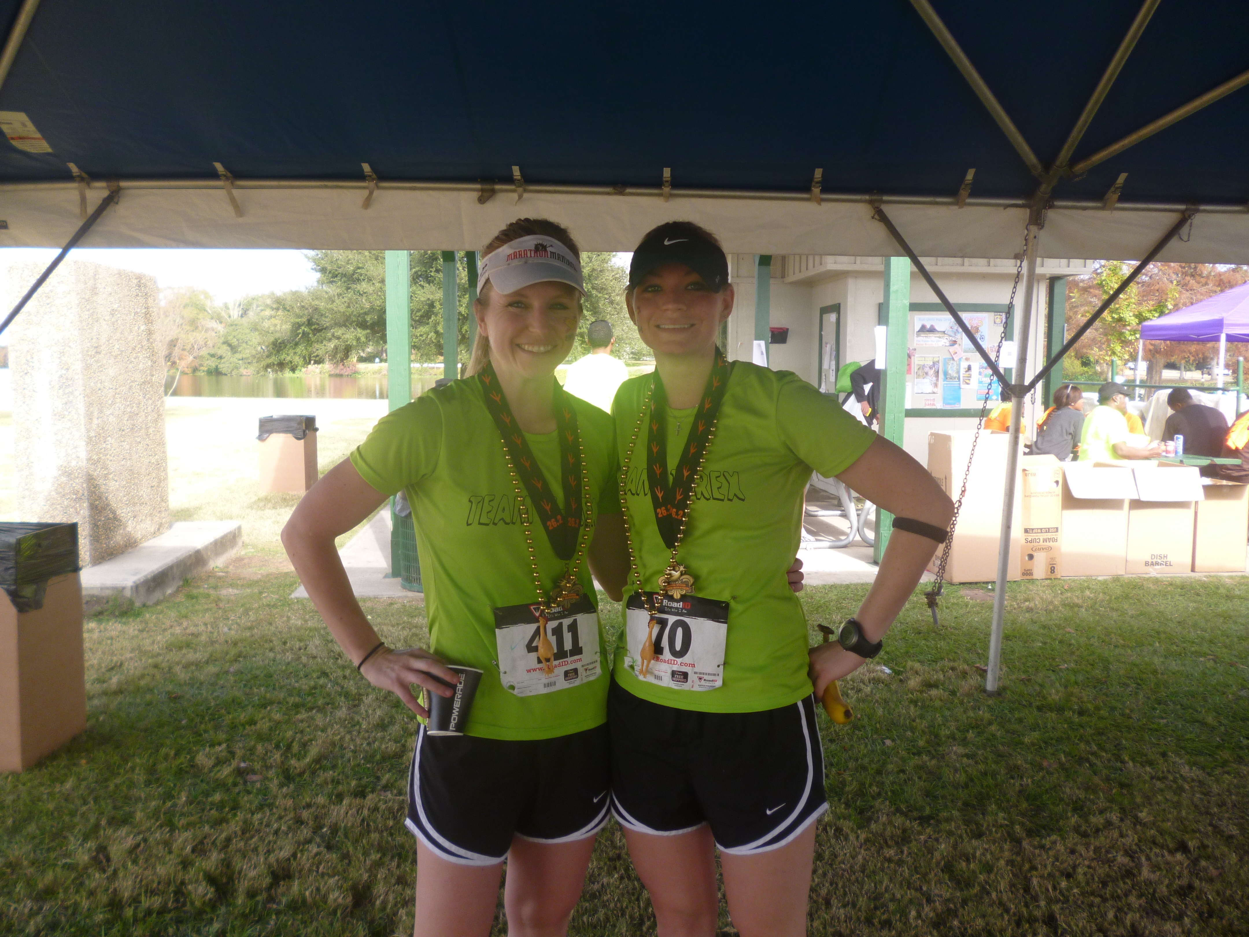 Amanda demanded that there be a post race photo.
