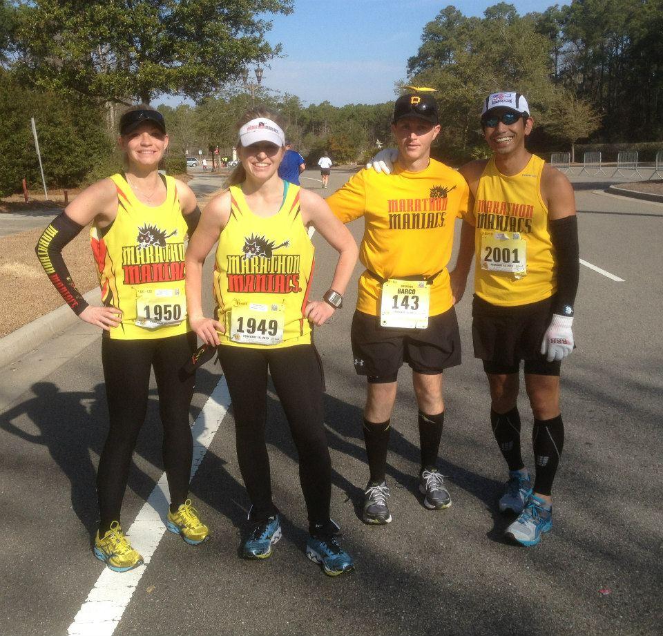 Amanda, me, Barco, and JC. Maniacs unite!