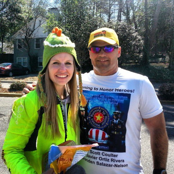 Scott is running a marathon in every state to honor fallen soldiers. Check out his facebook page!