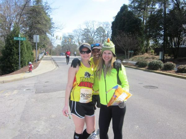 Running partners in crime. We miss you, Kate!