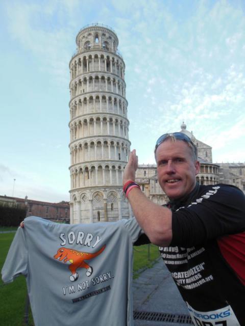 Team T-Rex visits Italy!